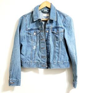 Levi's | Light Wash Blue Denim Distressed Jacket